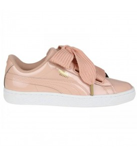 Deportivas para mujer Puma Basket Heart Patent 36307311 de color rosa al mejor precio en tu tienda de sneakers en Pontevedra.