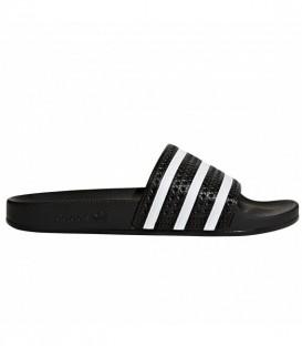 Chanclas de moda y natación adidas adilette 280647 de color negro y blanco al mejor precio en chemasport.es
