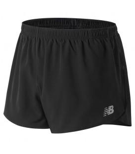 """Pantalón corto para hombre New Balance Accelerate 3"""" de color negro. Ref: MS81277BK. Compra ahora tus pantalones de running en nuestra web. Calidad y precio."""