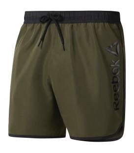 Pantalón bañador Reebok Beachwear Retro Shorto de color verde oliva. Ref: CD5737. Compra ahora y recíbelo en 48 horas. Más en nuestro Outlet Reebok.