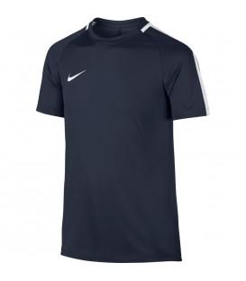 Camiseta Nike Dry Academy 832969-451 para niño en color azul marino, camiseta perfecta para entrenar al fútbol, disponible en más colores en chemasport.es