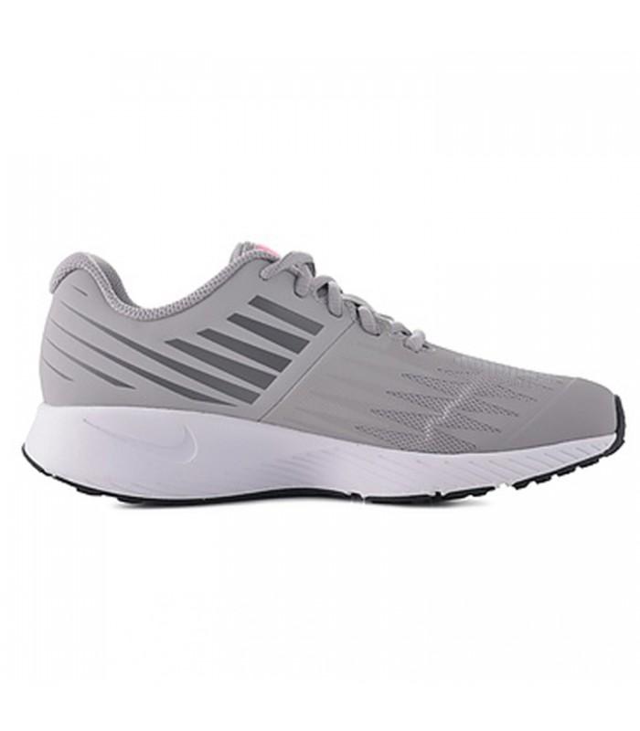 Nike - Zapatillas running Star Runner GS gris, rosa