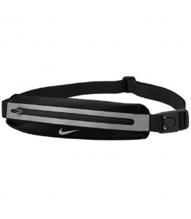 Riñonera Nike Slim N.RL.A0.082.OS en color negro, riñonera de running ligera para correr sin molestias, más colores en chemasport.es