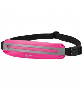 Riñonera Nike Slim N.RL.A0.619.OS en color rosa, riñonera de running ligera diseñada para minimizar el balanceo, más colores disponibles en chemasport.es
