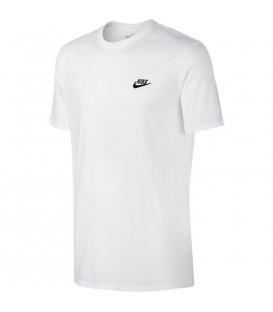 Camiseta Nike Sportswear 827021-100 para hombre, camiseta básica a muy buen precio, descubre más camisetas económicas en chemasport.es