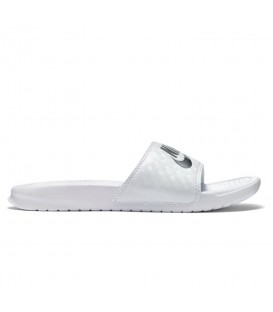 CHANCLAS NIKE BENASSI JUST DO IT 343881-102 BLANCO UNISEX
