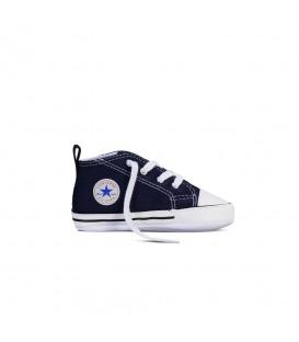 Patucos Converse First Star Hi 88865 para bebé en color azul marino. Patucos para bebé en chemasport.es