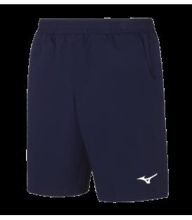 Micro Bermuda de la marca Mizuno de color azul pensada para la práctica de cualqueir actividad deportiva.