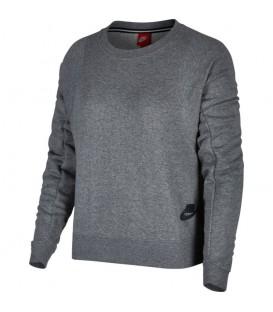 Sudadera para mujer Nike Modern Crew de color gris. Disponible en más colores. Referencia: 883807-091. Envíos + 50 euros. Gratis.