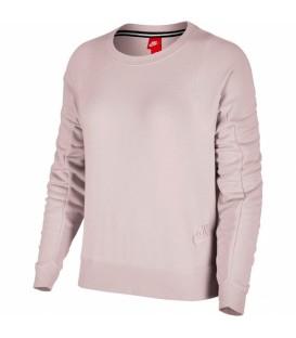 Sudadera para mujer Nike Modern Crew de color rosa. Disponible en más colores. Referencia: 883807 699-M