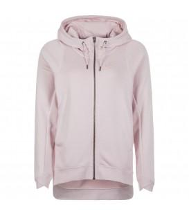 Chaqueta con capucha tipo capa Nike Sportwears Modern para mujer de color rosa. Referencia: 885595-699. Chaqueta original y única. Cómprala ya y recíbela en 48h