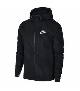 Sudadera para hombre con capucha Nike Advance 15 de color negro. Ref: 885937-010. Envíos nacionales e internacionales. Cambios gratuitos.