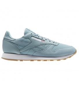 Zapatillas de Reebok para hombre Reebok Classic Leather ESTL M BS9724 de color azul al mejor precio y gastos de envío gratis en chemasport.es