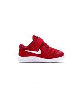 Comprar deportivas de Nike para niños baratas. Las Nike Revolution 4 TDS 943304-601 de color rojo para niños al mejor precio en chemasport.es