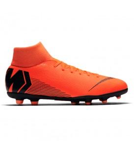 Botas de fútbol para hombre para todas las superficies Niker Mercurial Superfly VI Club MG AH7363-810 de color naranja al mejor precio en chemasport.es