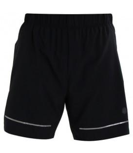 Pantalones de running para hombre Asics Lite-Show 7IN de color negro perfecto para tus carreras más exigentes gracias a las últimas tecnologías de Asics.