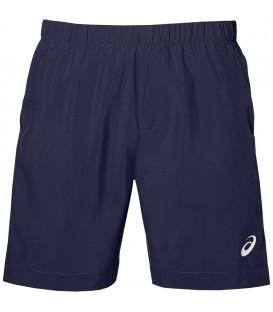 Pantalón de tenis para hombre Asics Short de color azul marino. Pantalón para tenis u otros deportes de raqueta. Ref: 154408-0793.Cómpralo ahora online.