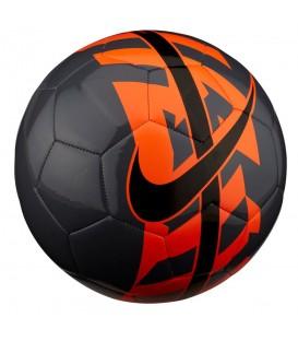 Balón de fútbol Nike React SC2736-011 en color gris y naranja, en chemasport.es encontrarás los mejores balones de fútbol a los mejores precios.