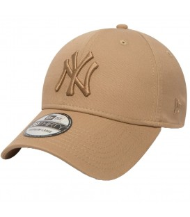 Gorra New Era 39Thirty New York Yankees Essential 80536611 en color marrón, confeccionada en algodón y con visera curvada, un imprescindible de este verano.
