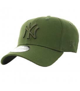 Gorra New Era 39Thirty New York Yankees Essential 80536609 en color verde, en chemasport.es encontrarás las gorras de moda New Era, descubre nuestro catálogo.