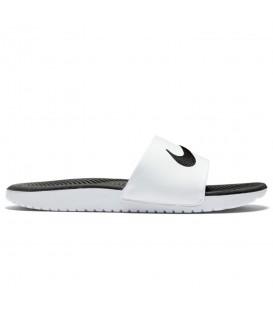 Chanclas de natación Nike Kawa GS Slide 819352-100 de color blanco y negro para mujer y niños. Otros modelos de Nike al mejor precio en chemasport.es