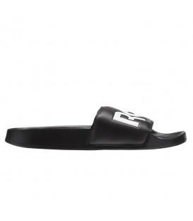 Chanclas de piscina unisex para hombre y mujer Reebok Classic Slide CN0735 de color negro y blanco al mejor precio y gastos de envío gratis en chemasport.es