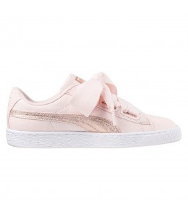 ZAPATILLAS PUMA BASKET HEART CANVAS