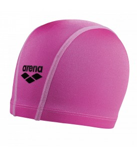 Gorro de piscina Arena Unix 91279-043 para niños en color rosa, gorro de natación de tejido elástico y fácil de poner, encuéntralo en chemasport.es
