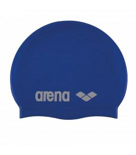 ¿Necesitas un gorro de piscina? El gorro de piscina Arena Silicone 91662-077 se adapta perfectamente gracias a su elasticidad, más colores en chemasport.es