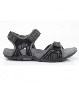 Sandalias de trekking resistentes para hombre Chiruca Barbados 03 4498303  de color negro con cierre de