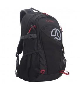 Mochila Ternua SB25 2691834-2326 en color negro, mochila de trekking con porta bastones y espalda acolchada para una comodidad óptima, cómprala en chemasport.es