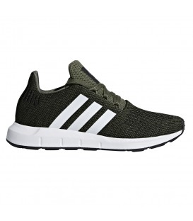 ZAPATILLAS ADIDAS SWIFT RUN J CQ2603 VERDE NIÑOS