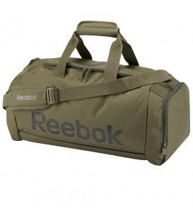 Bolso Reebok Sport Royal BQ1215 en color verde, bolso para el gimanasio de 20L de capacidad, entra en chemasport.es y descubre más modelos de las mejores marcas