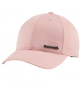 Gorra Reebok Woman Foundation CE2732 para mujer en color rosa, completa tus looks deportivos con estilo, compra esta gorra en chemasport.es y recíbela en 24/48h