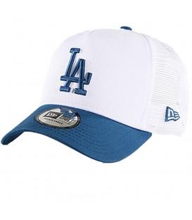 Gorra New Era League Essential Los Angeles Dodgers 80581005 blanca y azul, las gorras de moda New Era en chemasport.es, envíos en 24/48 horas a pensínsula.
