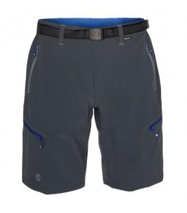 Pantalón de montaña Kross Bermuda de color gris para hombre. Compra ahora este pantalón técnico ideal para la práctica de trekking y senderismo. 1541870-9937