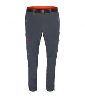 Pantalón largo de montaña Ternua Sabah para hombre de color gris. Ref: 1273342-2234. Pantalón largo de senderismo desmontable de gran calidad y durabilidad.