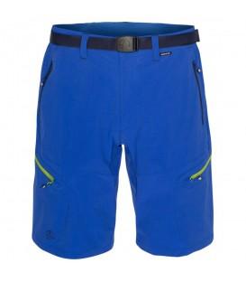 Pantalón corto de montaña Ternua Kross Bermuda de color azul. Perfecto para disfrutar de tus salidas en la naturaleza. Recíbelo en 48 horas. Ref: 1541870-1926