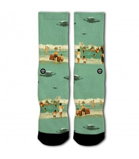 CALCETINES RAW SOX UFO BEACH