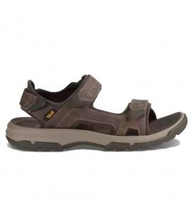 Sandalias de trekking para hombre Teva Langdon 15149WAL de color marrón con cierre de velcro al mejor precio en tu tienda de deportes online chemasport.es