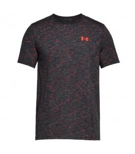 Camiseta de entrenamiento para hombre Under Armour Threadborne Seamless 1289596-016 de color gris en tu tienda de deportes online chemasport.es