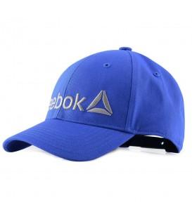 Gorra Reebok Kids Logo CD6543 para niños en color azul, las gorras son el complemento perfecto para proteger a los niños en los días soleados.