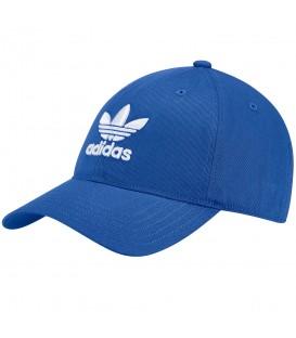 Gorra adidas Trefoil BK7271 en color azul, las gorras adidas presentan un estilo clásico y deportivo, encuentra la tuya en chemasport.es al mejor precio.