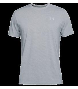 Camiseta de manga corta Under Armour Threadborne Streaker para hombre de color rojo. Ref: 1271823-038. Compra ahora tu equipación de running al mejor precio.