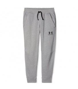 Compra ahora este pantalón para niño Under Armour EU Cotton Fleece de color gris 1320135-001. Más modelos de la casa americana en nuestra web al mejor precio.