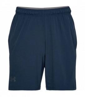 Pantalón corto UA Cage Short para hombre de color azul. Disponible en más colores. Under Armour es una casa americana de alta calidad. Ref: 1304127-408