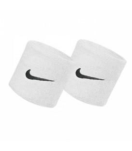 Muñequeras Niñe Swoosh N.NN.04.101.OS en color blanco, evita que es sudor te moleste con esas muñequeras que ayudan a absorver el sudor y que se evapore.