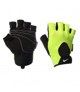 Guantes Nike Men's Fundamental N.LG.B2.714. en color amarillo, guantes de fitness, perfectos para el gimnasio.