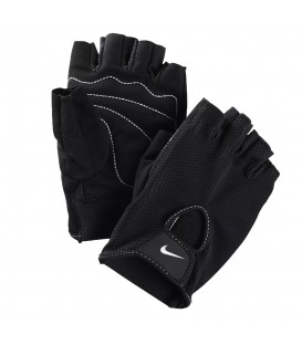 Guantes Nike Men's Fundamental 9.092.051.037 en color negro, guantes de fitness, perfectos para realizar pesas en el gimnasio o para clases como spinning.