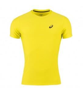 Camiseta de manga corta Asics SS TOP de color amarillo. Ref: 134084-0480. Camiseta de running de la marca asics a un precio imbatible. Más colores.